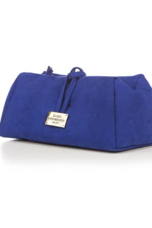 LARGE SUEDE ROYAL BLUE