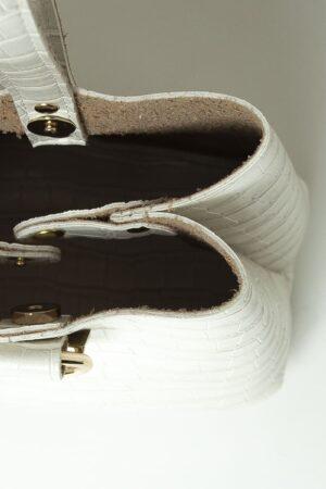 TINY CROCO WHITE