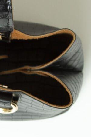 TINY CROCO BLACK