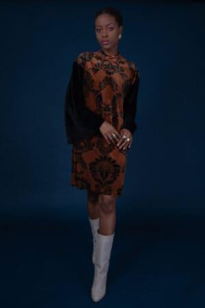 GWYNETH MINI DRESS