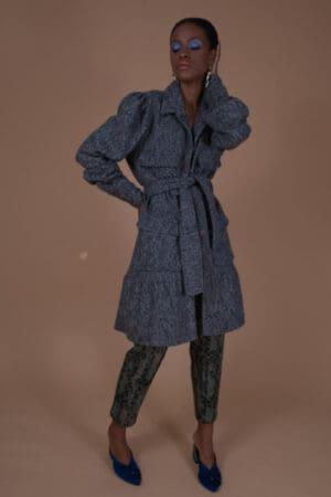 SISELY TWEED COAT DRESS