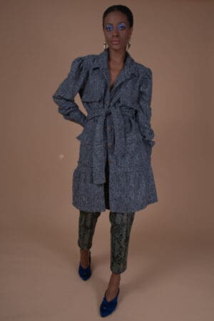 SISELY TWEED COAT DRESS