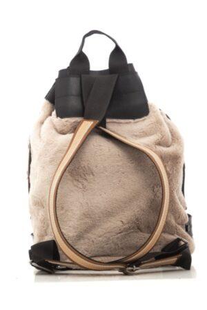 Fluffy Backpack Mocha