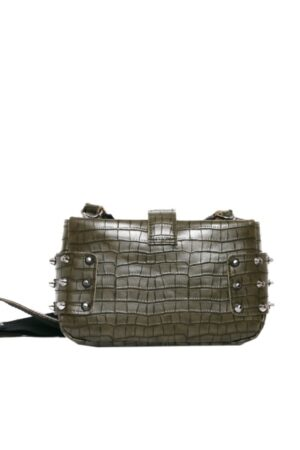 City Lady Clutch Croco Khaki