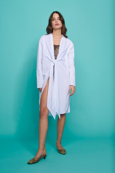 AUGUST MOON MONOCHROME KAFTAN