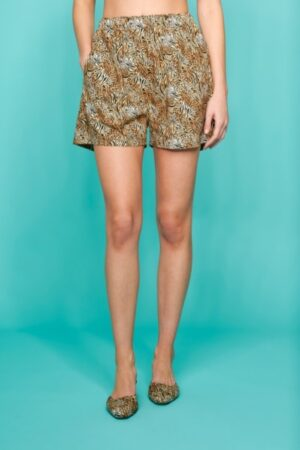 DAY OFF PRINT SHORTS